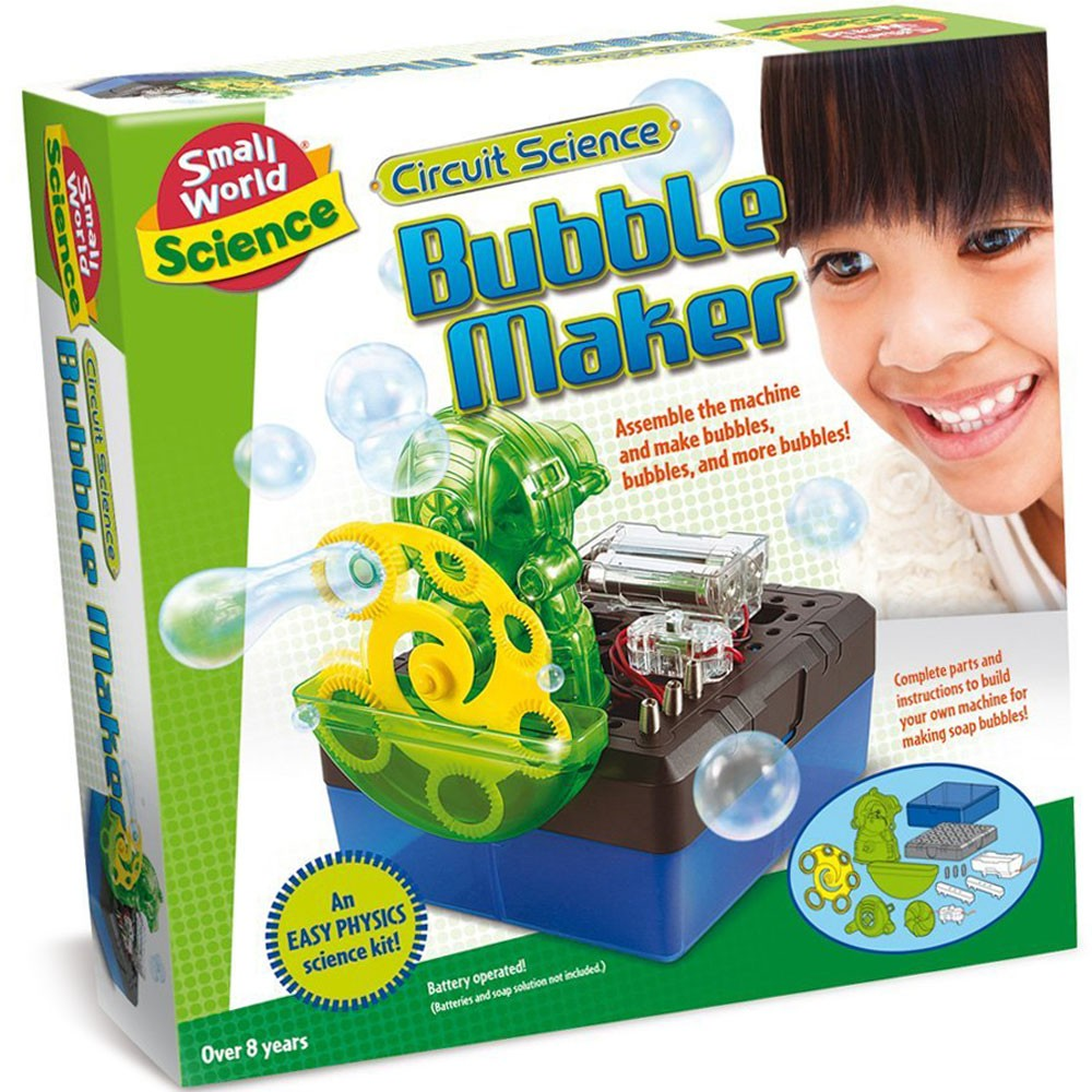 Build A Bubble Maker Circuit Science Kit Educational Toys Planet Snap Circuits Rc Rover