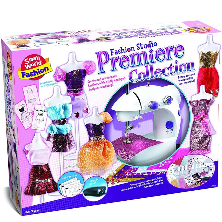 Machine Toys For Girls : Fashion studio premier collection sewing machine craft