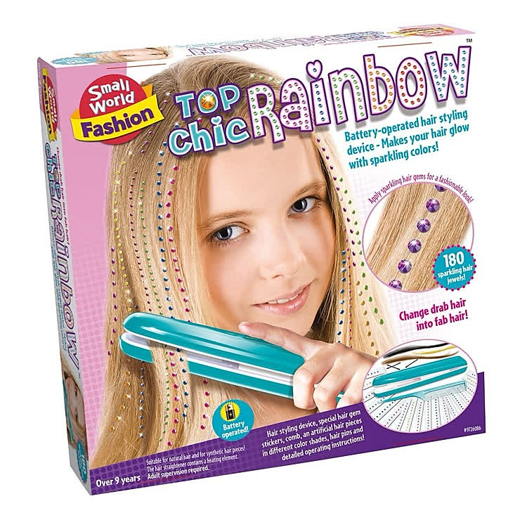 Girl Toys 9 10 : Top chic rainbow girls hair styling set educational toys