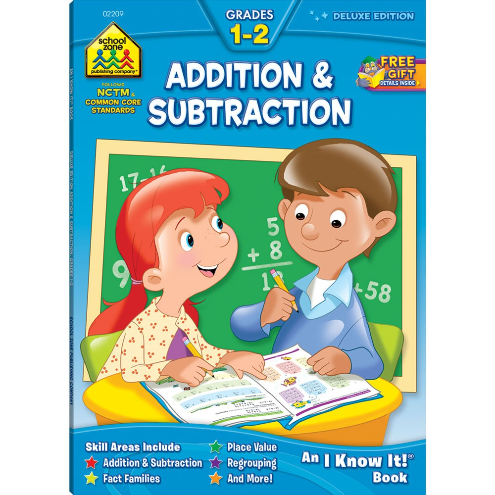 Toys For Grade 1 : Addition subtraction pages grades workbook
