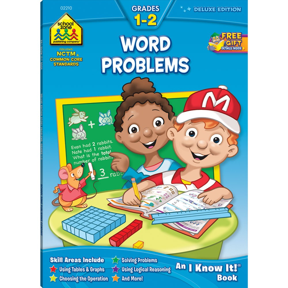 Toys For Grade 1 : Word problems pages grades workbook educational