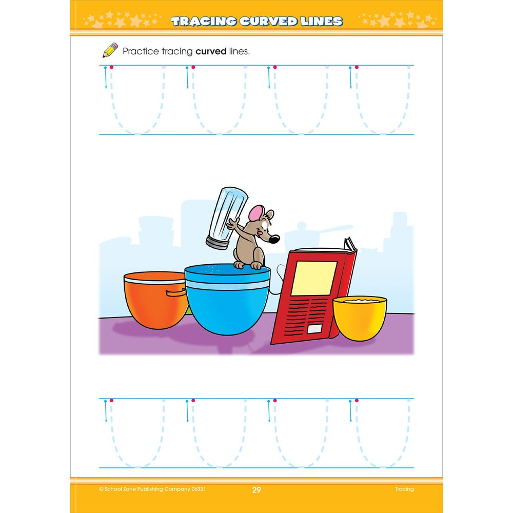 Workbooks developing spatial thinking workbook : Big Preschool Activity Workbook 320 Pages - Educational Toys Planet