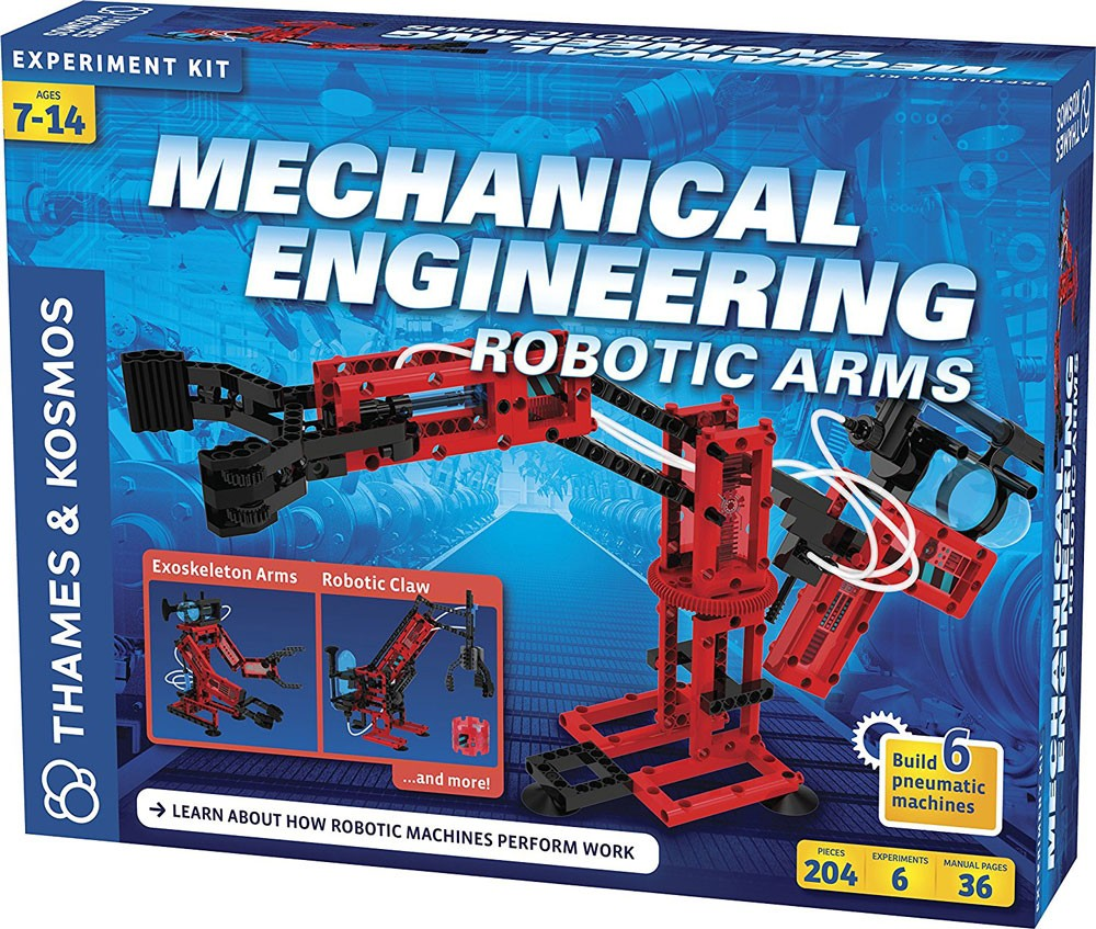 Engineering Toys For Boys : Mechanical engineering robotic arms science kit