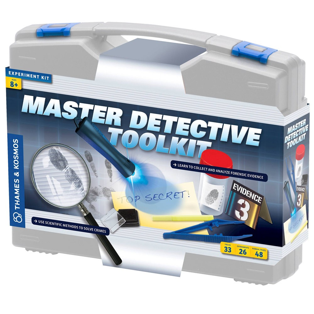 Master Detective Toolkit Forensic Science Kit Educational Toys Planet