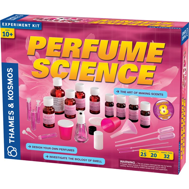 Perfume Science Deluxe Science Kit For Girls Educational