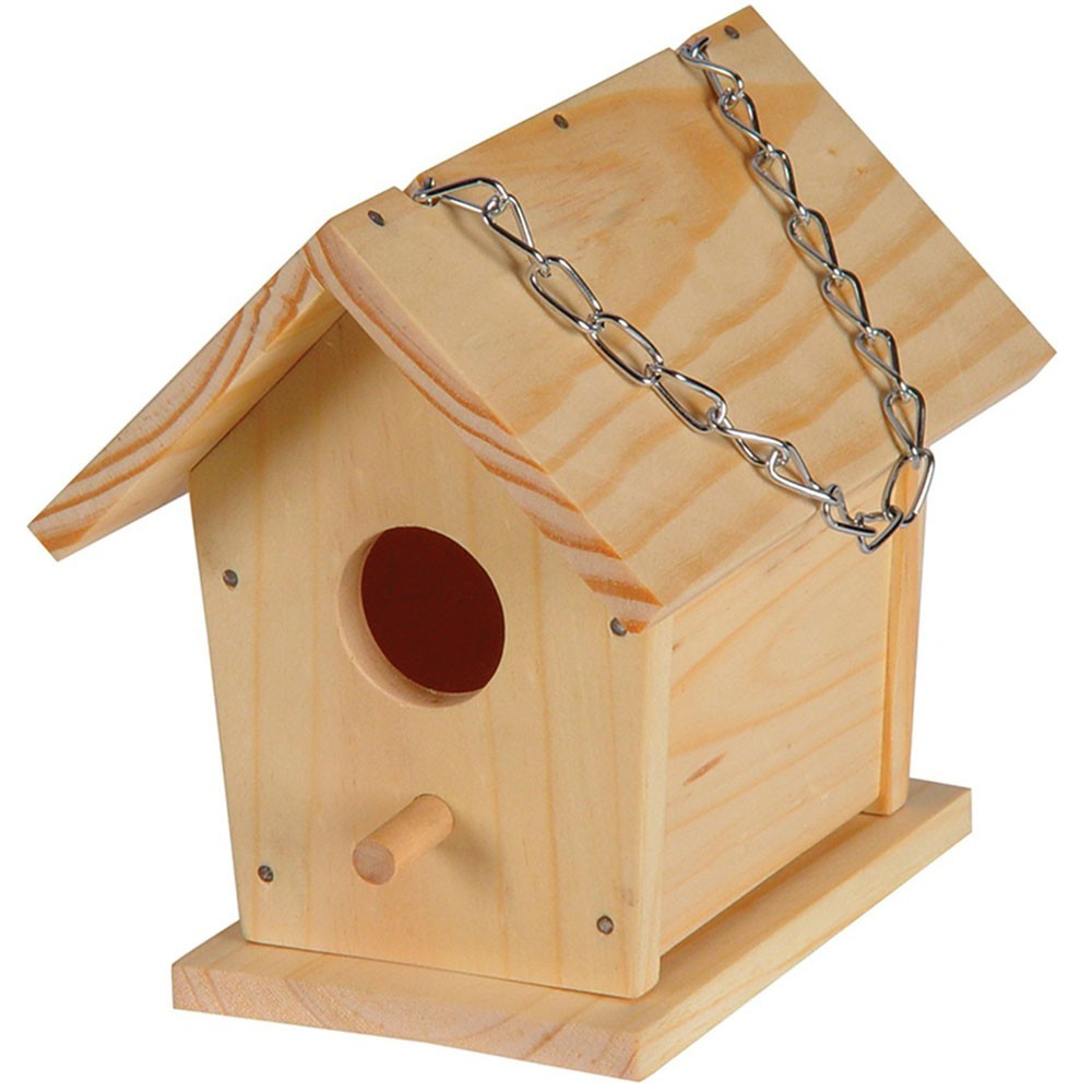Build a bird house craft kit educational toys planet for Build a house kits