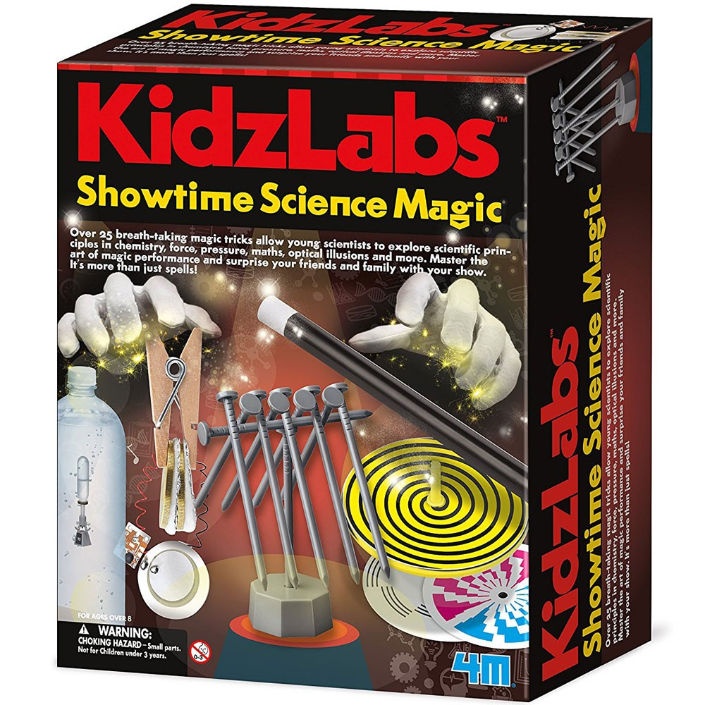 Toys For 8 10 Years : Kidzlabs showtime science magic combo kit