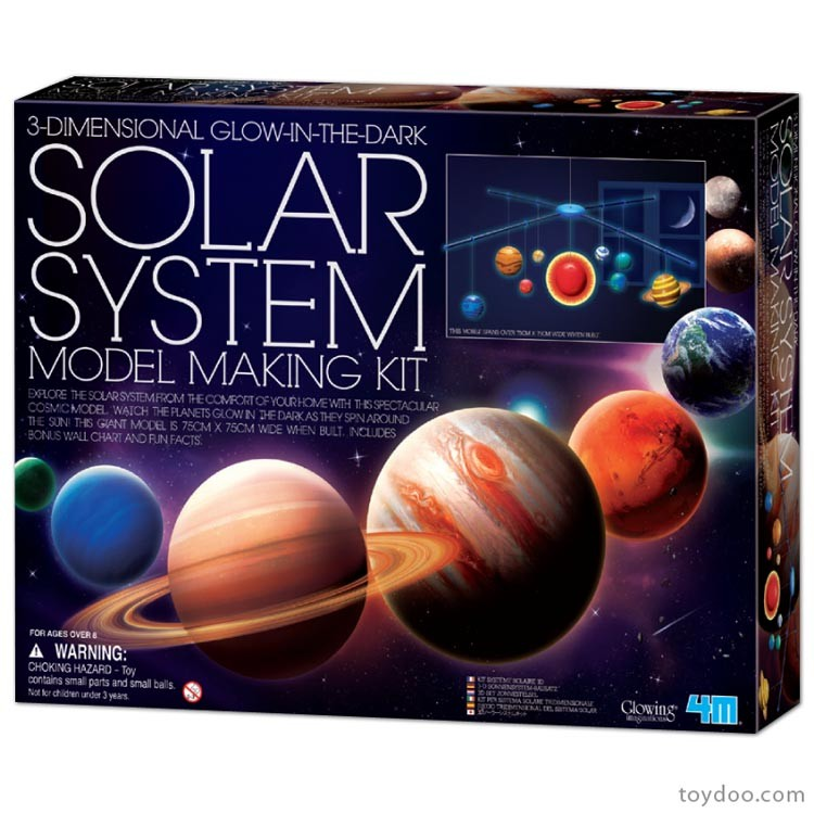3d Solar System Mobile Craft Kit Educational Toys Planet