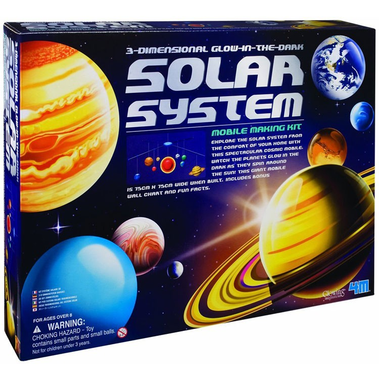 Solar System And Planet Toys : D solar system mobile craft kit educational toys planet