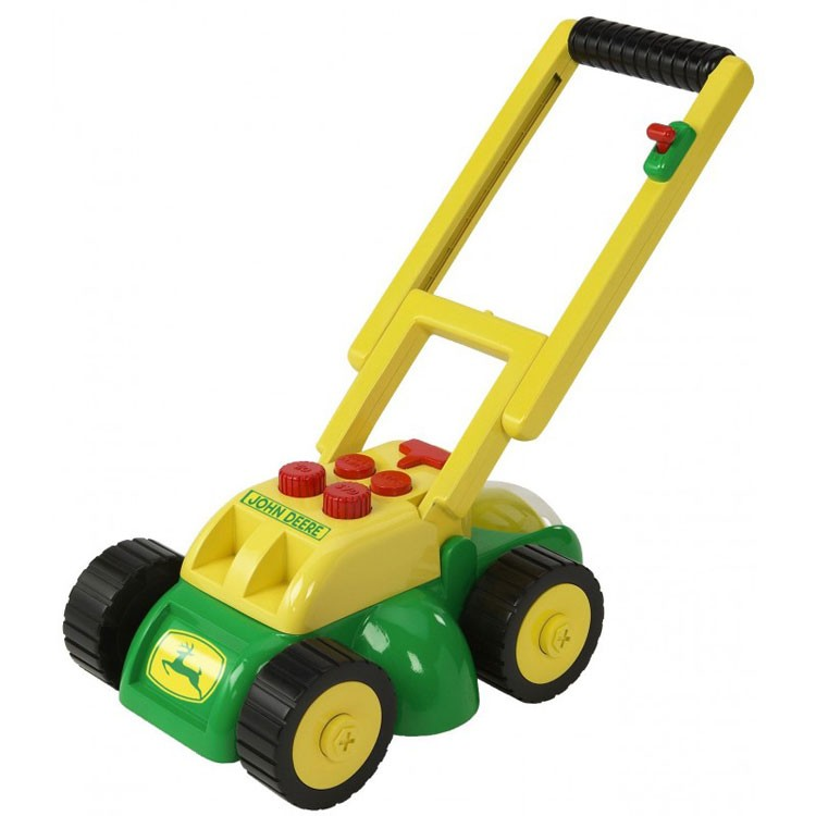 Toy Lawn Mower : John deere real sounds lawn mower for kids educational