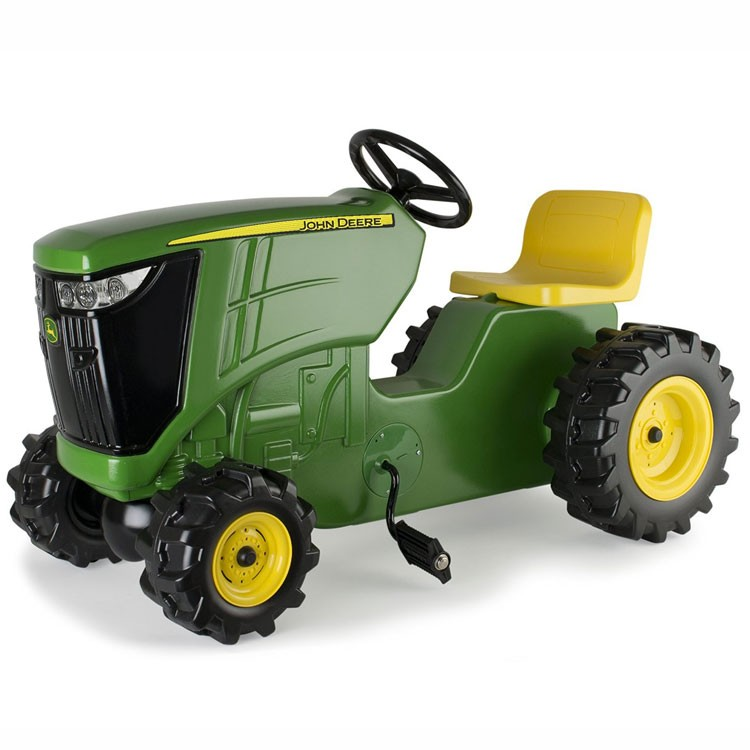 John Deere Plastic Pedal Tractor Ride On Toy Educational
