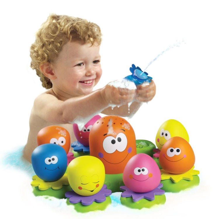 Octopal Squirters Water Pouring Bath Toy - Educational Toys Planet