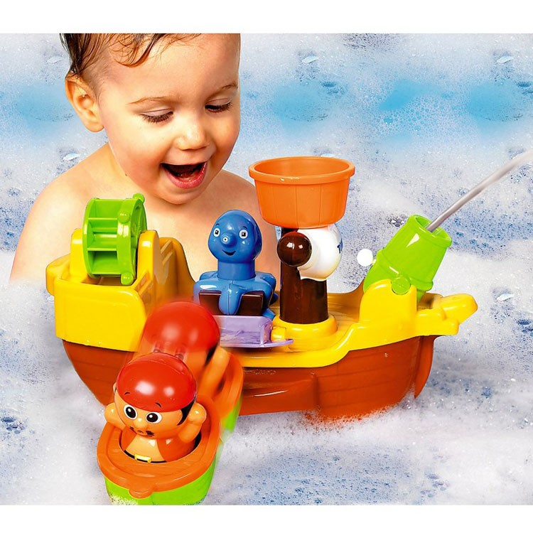 Tomy Pirate Ship Toddler Bath Playset - Educational Toys Planet