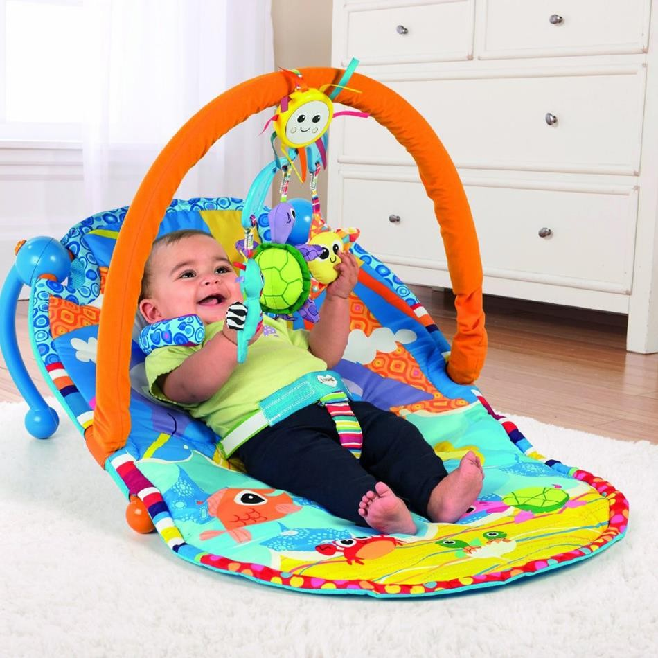 Lamaze Sit Up Amp See Baby Activity Gym Educational Toys