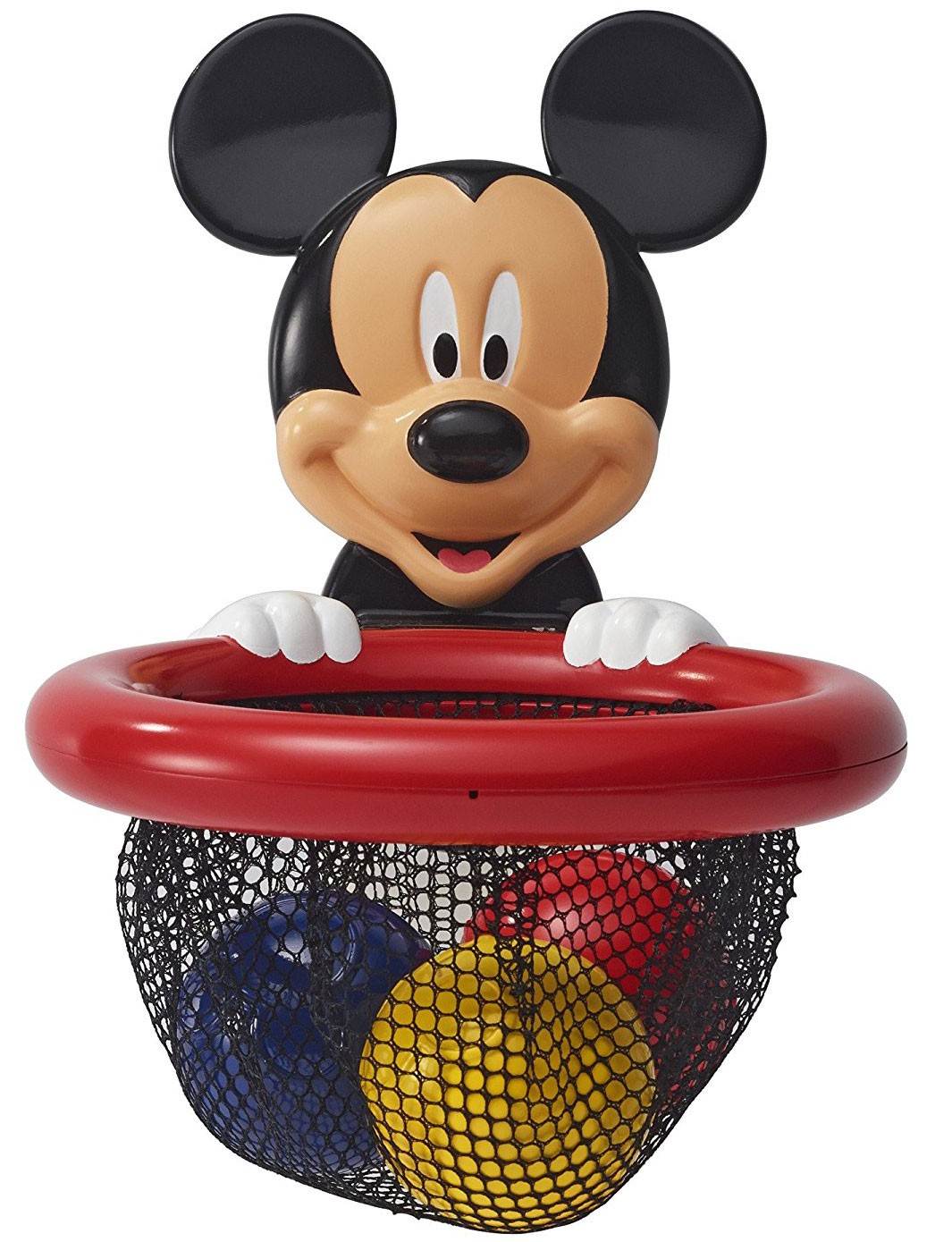 Mickey Mouse Shoot & Store Basketball Bath Toy - Educational Toys Planet