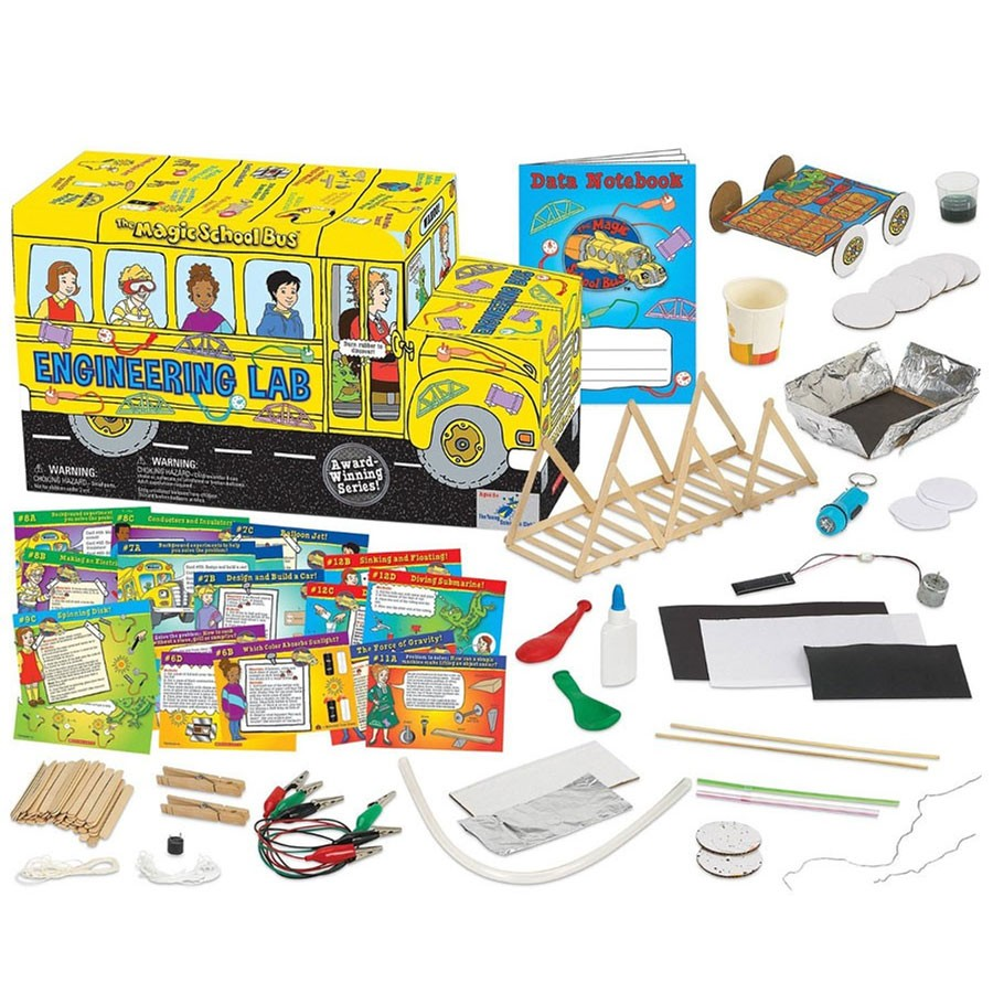 Stem School Finder: The Magic School Bus Shaped Engineering Lab Science Kit
