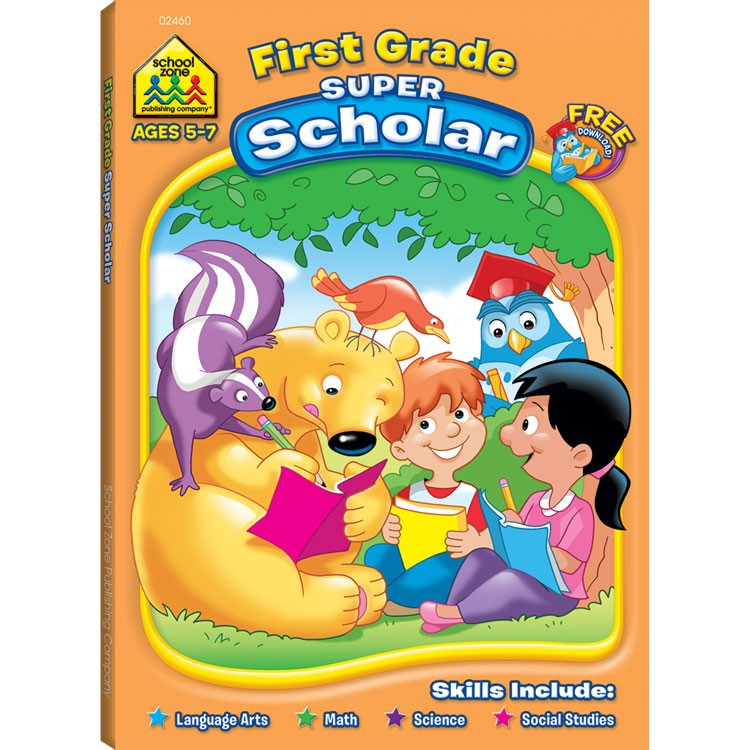 Toys For Grade 1 : First grade super scholar pages workbook educational