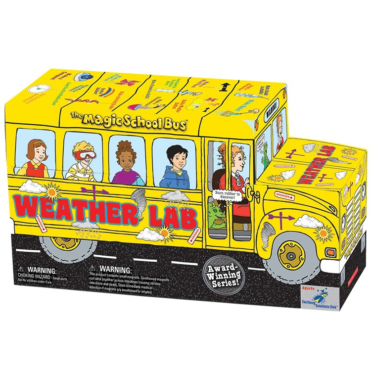 The Magic School Bus Shaped Science Kit - Weather Lab ...