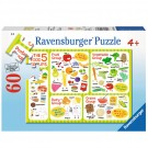 Good Food Learn Food Groups 60 pc Puzzle