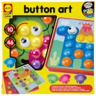 Button Art Creative Mosaic Craft