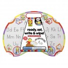 Ready, Set Write and Wipe Learn to Write Activity Board
