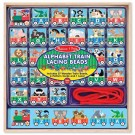 Alphabet Train Lacing Beads Learning Activity Toy