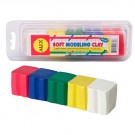 Soft Modeling Clay 5 Colors Primary Set