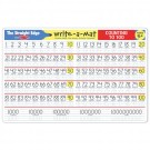 Counting 1-100 Write-on Learning Placemat