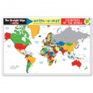 Countries of the World Coloring Learning Placemat