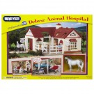 Breyer Deluxe Animal Hospital with 6 Animals Figurines Playset
