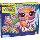 Sticky Mosaics Owls Girls Craft Kit