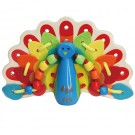 Lacing Peacock Manipulative Activity Toy