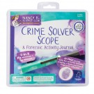 Crime Solver Scope & Forensic Activity Journal Science Kit
