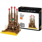 Nanoblock Building Set - Sagrada Familia Gaudi Temple