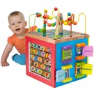 Busy Town Wooden Activity Cube