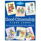 Good Citizenship Responsibility Flash Cards
