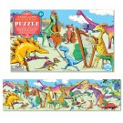 Dinosaurs at Leisure 36 pc Floor Panoramic Puzzle