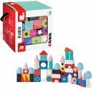 Kubix Maxi Wooden Building Blocks 50 pcs Set