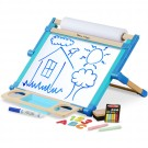 Deluxe Magnetic Double-Sided Tabletop Easel