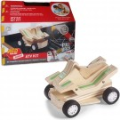 Build a Wooden ATV Vehicle Kids Woodcrafting Kit