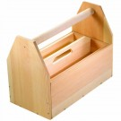 Kids Woodworking Building Set - Classic Toolbox