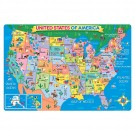 US Map 24 pc Giant Floor Puzzle