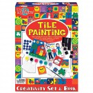 Tile Painting Craft Kit & Book