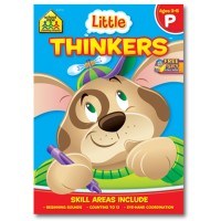 Little Thinkers Preschool Thinking Activity Workbook