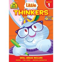 Little Thinkers 1st Grade Thinking Activity Workbook
