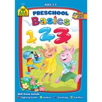 Preschool Basics Workbook - 32 Pages