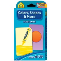 Colors, Shapes & Thinking Skills Flash Cards