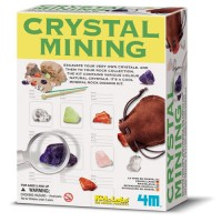 Kids Crystal Mining Science Kit