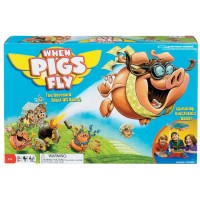 When Pigs Fly Kids Action Board Game