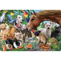 My Favorite Pets 24 pc Jumbo Floor Puzzle